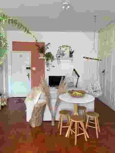 Visão da entrada do apartamento de Karina - Arquivo Pessoal - Arquivo Pessoal