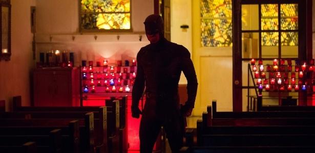 """Charlie Cox como Matthew Murdock na segunda temporada de """"Demolidor"""" - Divulgação/Netflix"""