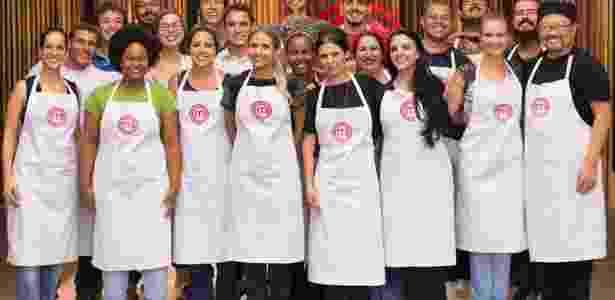 """Vinte e um cozinheiros amadores foram selecionados para entrar na cozinha da terceira edição do """"MasterChef Brasil"""" - Divulgação/Band"""