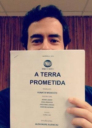 """Ator Felipe Folgosi, ex-Globo, está no elenco de """"A Terra Prometida"""" - Reprodução/Instagram/felipe_folgosi"""