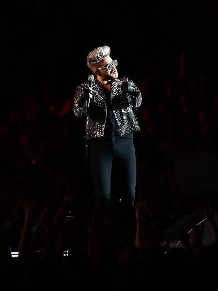 20.mai.2016 - Apresentação de Queen + Adam Lambert fecha o segundo dia do Rock In Rio Lisboa - Bruno de Carvalho/Brazil Photo Press/Folhapress