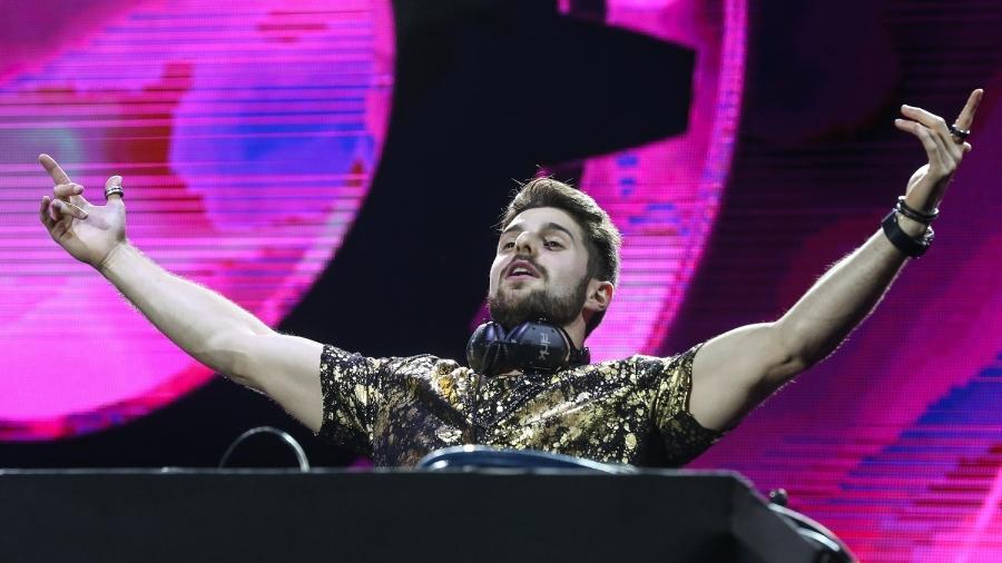 13.nov.2016 - O DJ Alok foi uma das atrações do festival Villa Mix, no Rio de Janeiro - Roberto Filho/Brazil News