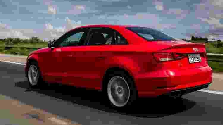 Audi A3 Sedan reestilizado - Divulgação - Divulgação