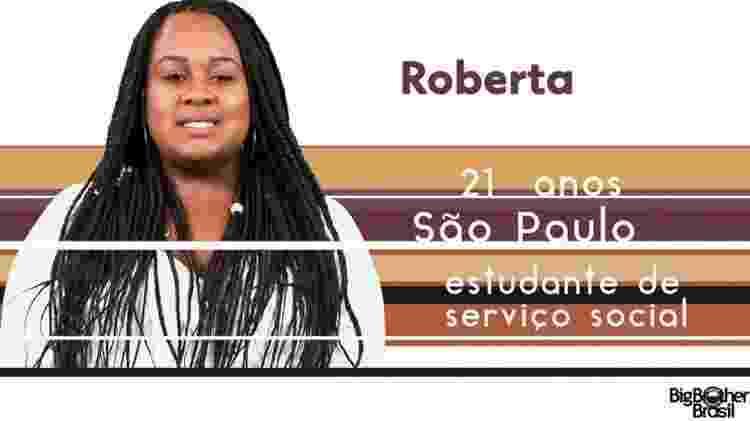 "Roberta ""BBB17"" - Reprodução/TV Globo - Reprodução/TV Globo"