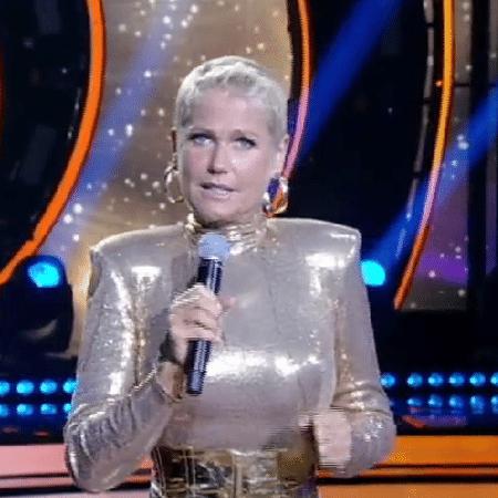 Xuxa anuncia Richarlyson e ouve grito de homem na platéia - Reprodução/TV Record