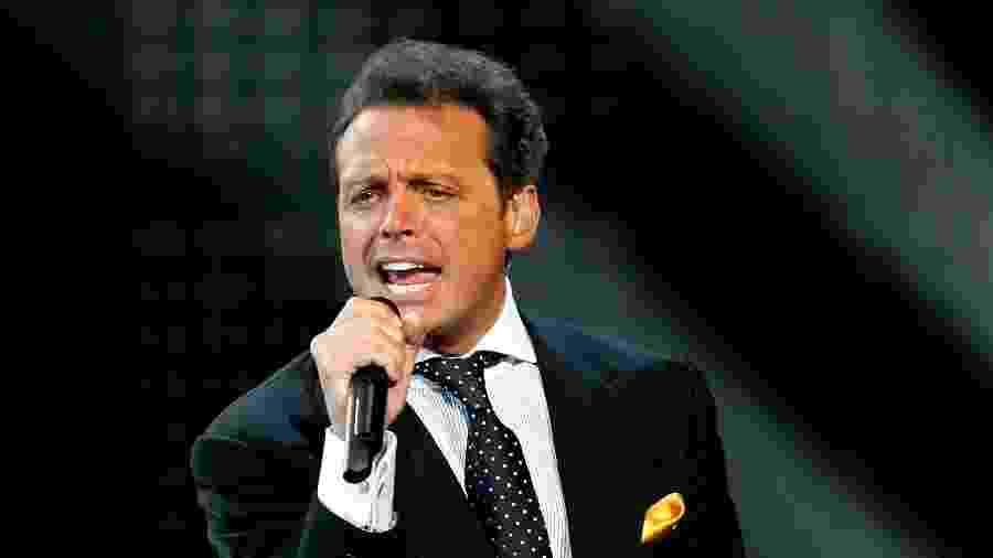O cantor Luis Miguel - Divulgação