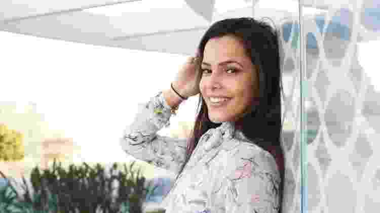"""Emilly Araújo revela que já fez testes na Globo e deixa escapar que foi aprovada pelos diretores. """"Fui bem. Minha atuação é por intuição"""" - Selmy Yassuda/UOL"""