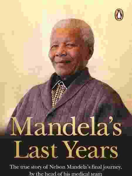 """Capa do livro """"Mandela's Last Years"""" - Divulgação - Divulgação"""