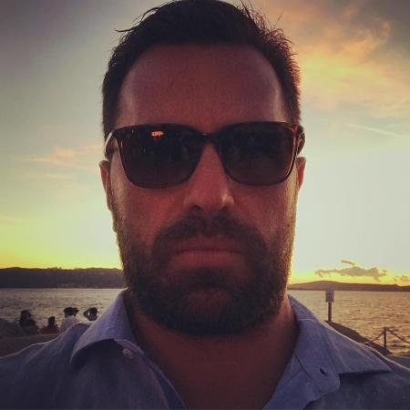 Rodrigo Bocardi posa barbudo em despedida das férias - Reprodução/Instagram/rodrigobocardi