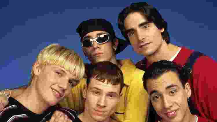 A boy band Backstreet Boys - Reprodução - Reprodução