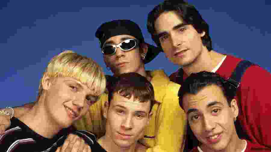 A boy band Backstreet Boys - Reprodução