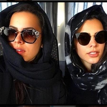 As irmãs Emilly e Mayla curtem a primeira viagem internacional da dupla  - Reprodução/Instagram/@emillyaraujoc