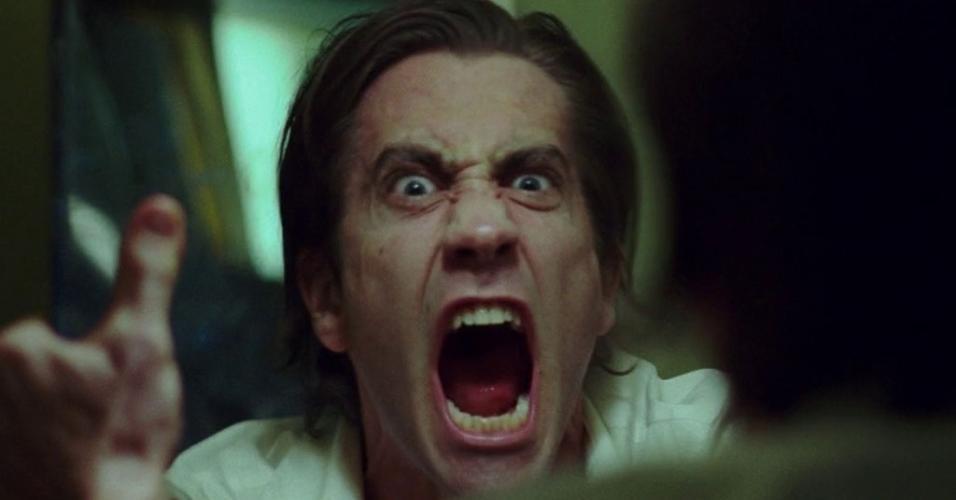 """Jake Gyllenhaal em cena de """"O Abutre"""" (2014)"""