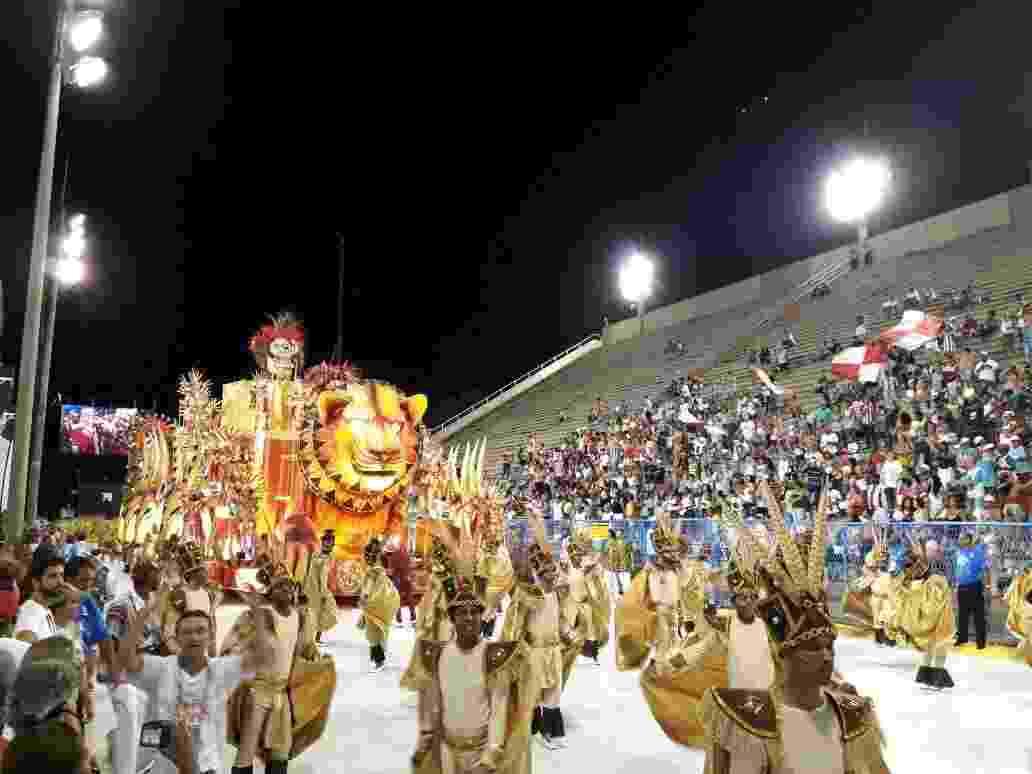 Unidos de Bangu abre os desfiles da Série A no Rio de Janeiro - Rafael Lemos/UOL