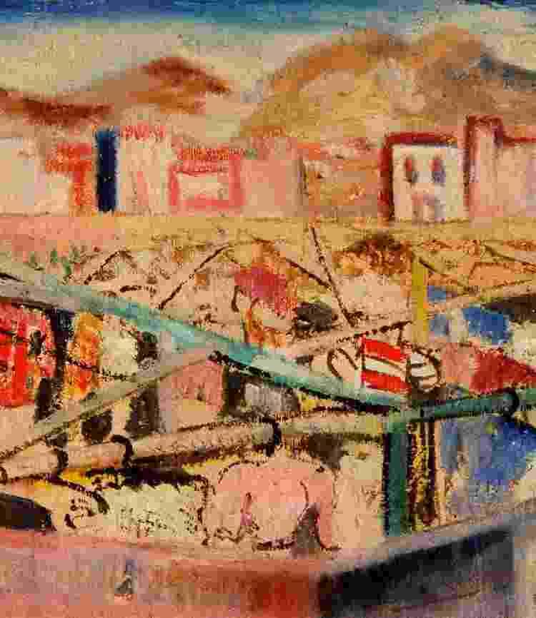 Durante a Segunda Guerra Mundial, como ato de solidariedade à luta contra o nazismo, 70 artistas modernistas brasileiros mandaram, de navio, 168 quadros de presente para a Inglaterra. Veja algumas das obras. - Doncaster Museum and Art Gallery