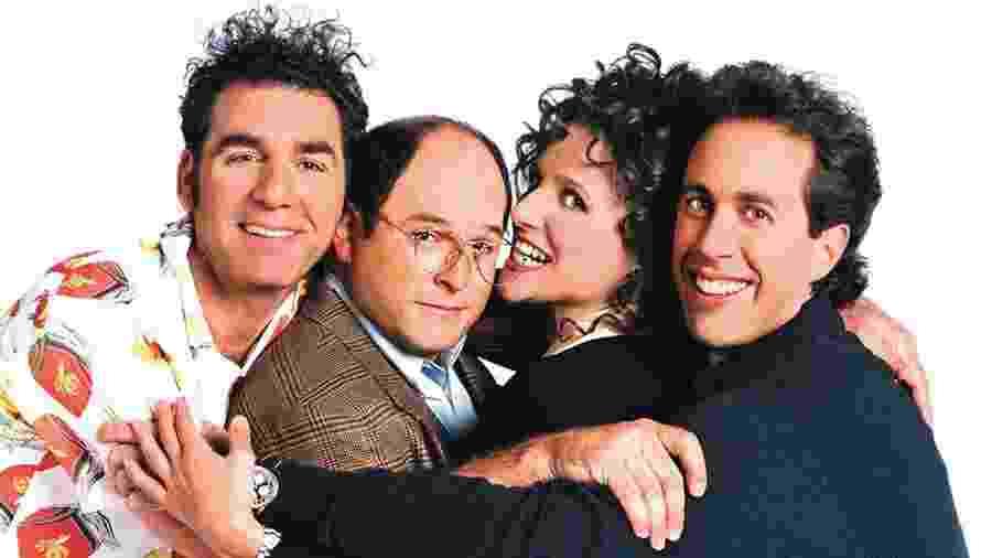 """Imagem de """"Seinfeld"""", que exibiu seu último episódio o dia 14 de maio de 1998 - Divulgação"""