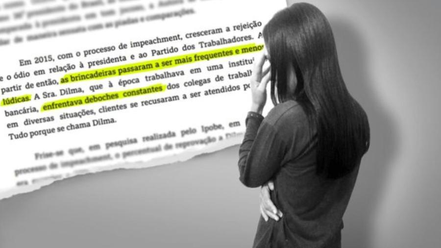 Dilma P., de 37 anos, pede mudança de seu nome de batismo pelas chacotas que vem sofrendo desde que ex-presidente sofreu impeachment.  - Kako Abraham/BBC