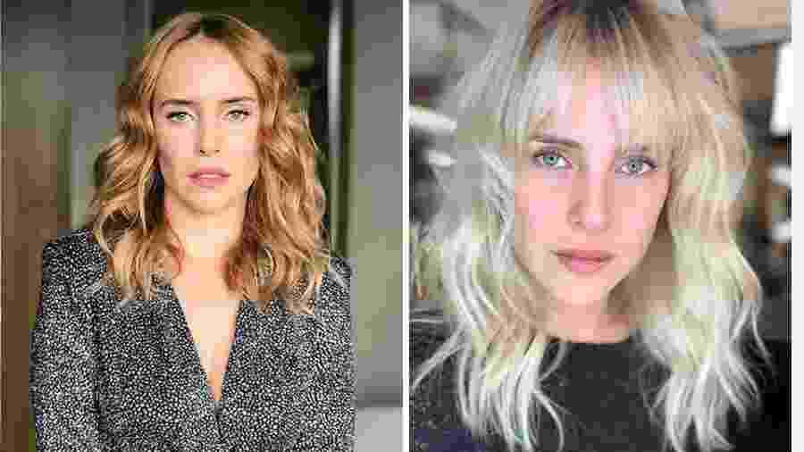 Fernanda Nobre antes e depois do novo visual - Reprodução/Instagram