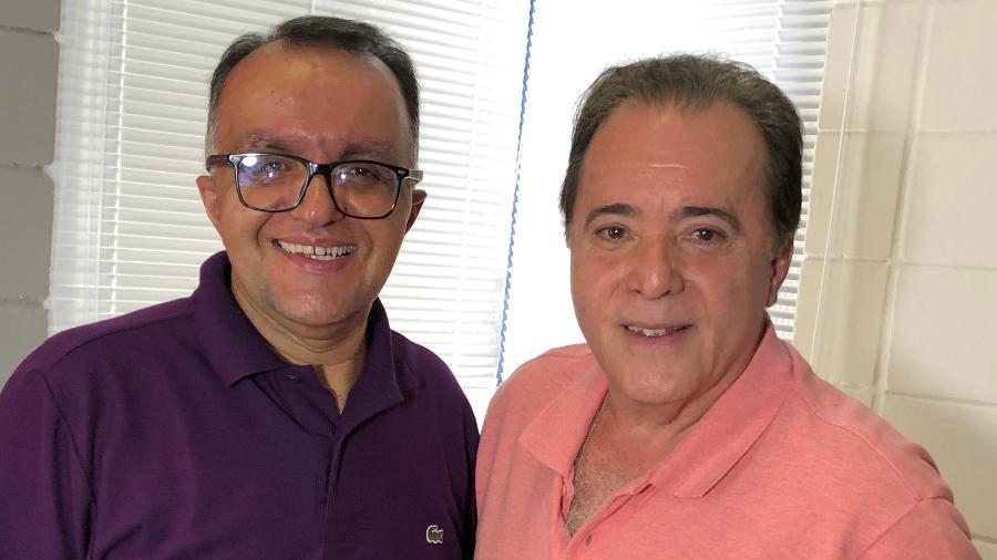 Ricardo Pierocini entrevistou Tony Ramos - Divulgação