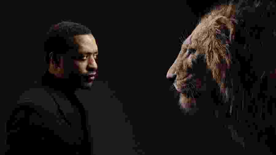 Chiwetel Ejiofor é o Scar em O Rei Leão - Kwaku Alston/Disney/Divulgação