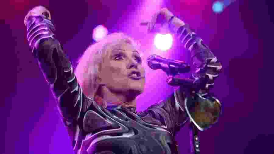 A cantora Debbie Harry -  Don Emmert - 5.fev.2014/AFP