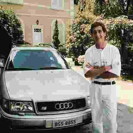 Audi S4 Avant de Senna 4 - Reprodução - Reprodução