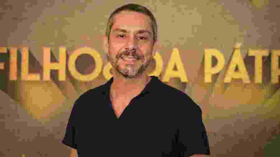 Alexandre Nero no lançamento de Filhos da Pátria - Estevam Avellar/Globo