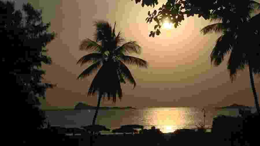 Destino tradicional para europeus e asiáticos, as praias do Sri Lanka recebem um fluxo muito menor de turistas após ataques de abril deste ano - BBC