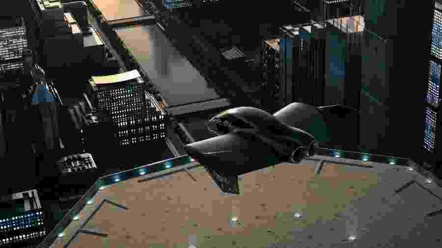Carro voador a ser desenvolvido por Porsche e Boeing - Divulgação