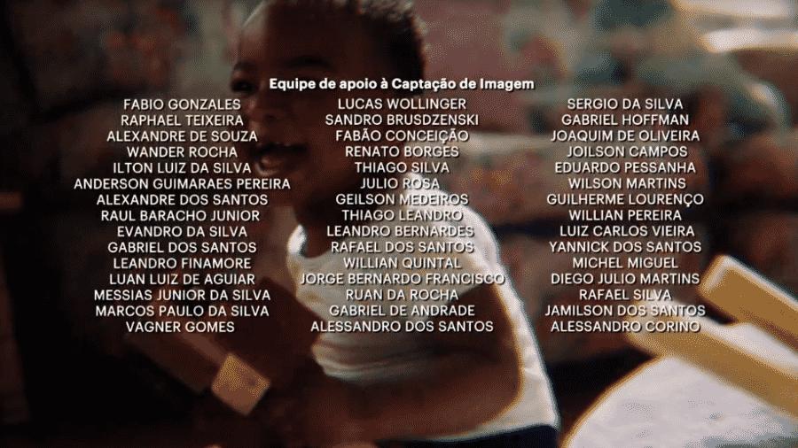 Créditos da novela Amor de Mãe sobem após intervalo comercial - Reprodução/Globoplay