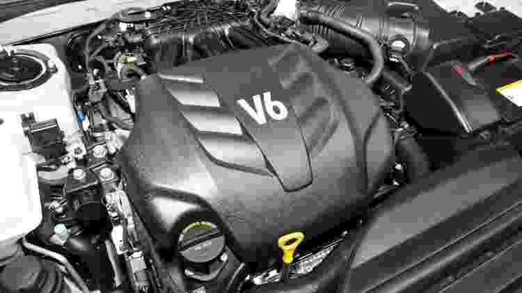 Hyundai Azera 2011 motor - Divulgação - Divulgação