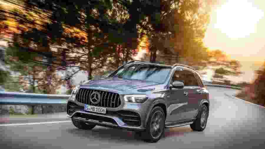 Mercedes-AMG GLE 53 4MATIC+  - Divulgação