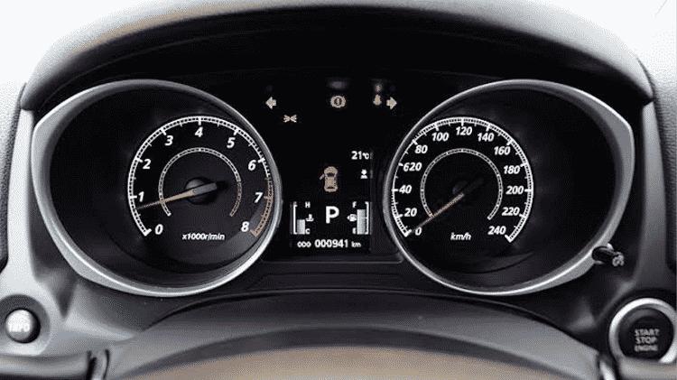 Multa 620 km/h Fortaleza Ceará Ishamu Shimaburuko Junior Mitsubishi ASX 2015 PAINEL - Reprodução - Reprodução