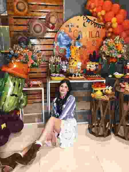 Camila Queiroz comemora aniversário com festa junina - Reprodução / Instagram