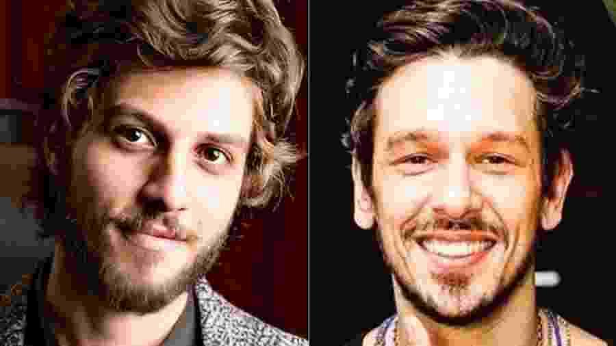 Chay Suede e o amigo João Vicente - Reprodução/Instagram
