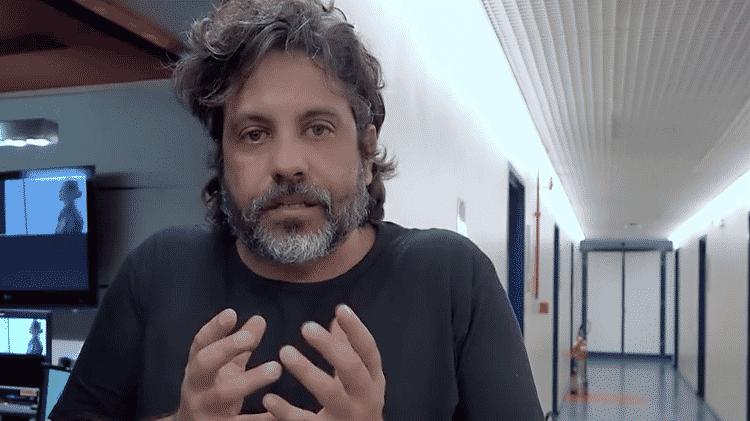 O diretor Pedro Vasconcelos - reprodução - reprodução