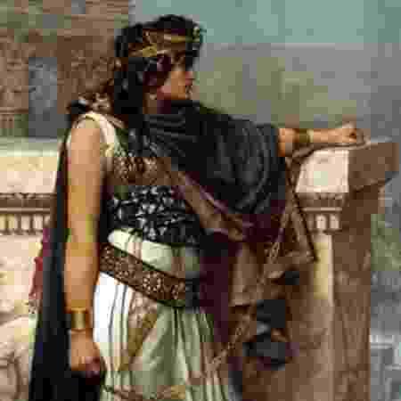 Diz-se que Zenóbia, a rainha de Palmira, foi tão inteligente quanto bonita e uma grande líder militar - Getty Images