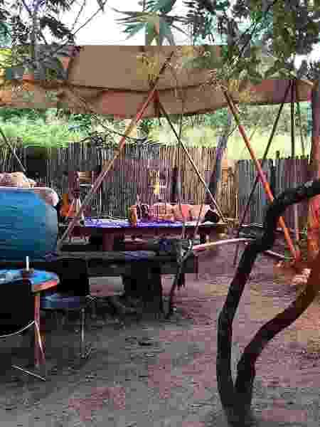 Camping Taiuá Ambiental, em Vila de São Jorge (Goiás) - Arquivo pessoal - Arquivo pessoal