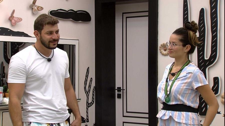 BBB 21: Caio e Juliette - Reprodução Globoplay