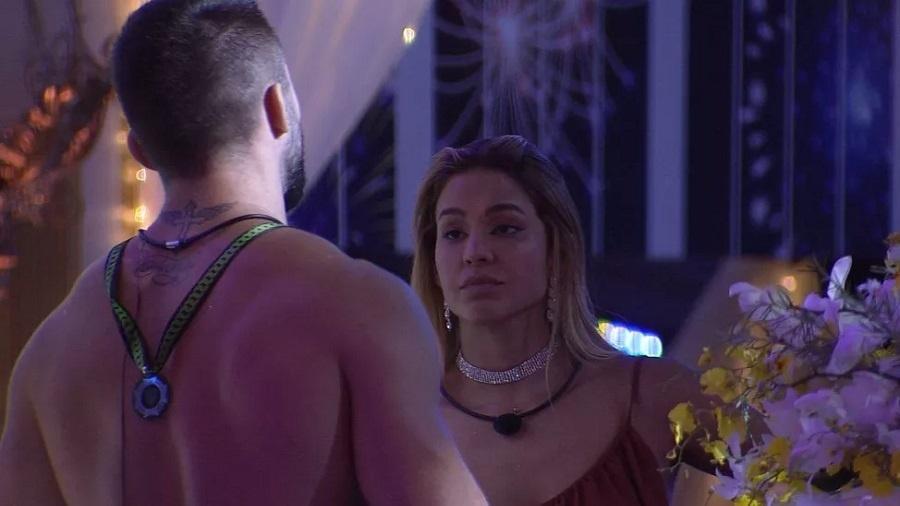 BBB 21: Kerline ficou brava com Lucas por ter tentado achar um affair para ela - Reprodução/Globoplay