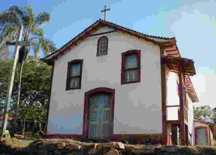 Igreja Matriz de Nossa Senhora dos Prazeres - Divulgação/Secretaria de Turismo de Serro - Divulgação/Secretaria de Turismo de Serro