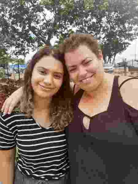 Mayara com a filha Ana - Arquivo pessoal - Arquivo pessoal