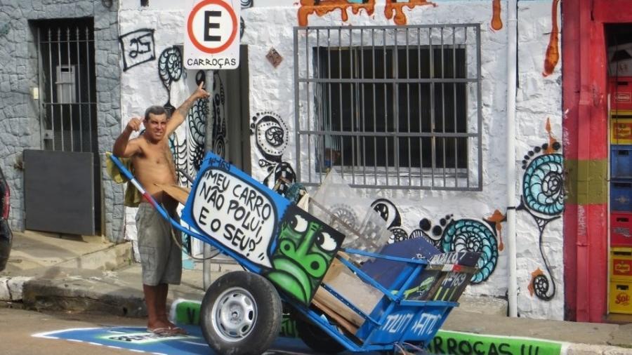 Pimp My Carroça realiza campanha para distribuir cestas básicas a profissionais da reciclagem - Divulgação