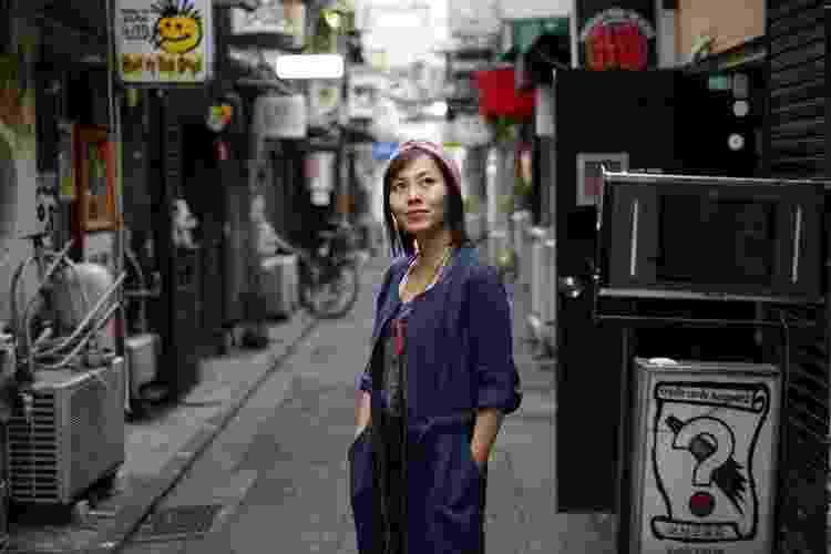Piti Koshimura, do blog Peach no Japão, mediou o bate-papo especial de Nossa - Reprodução - Reprodução