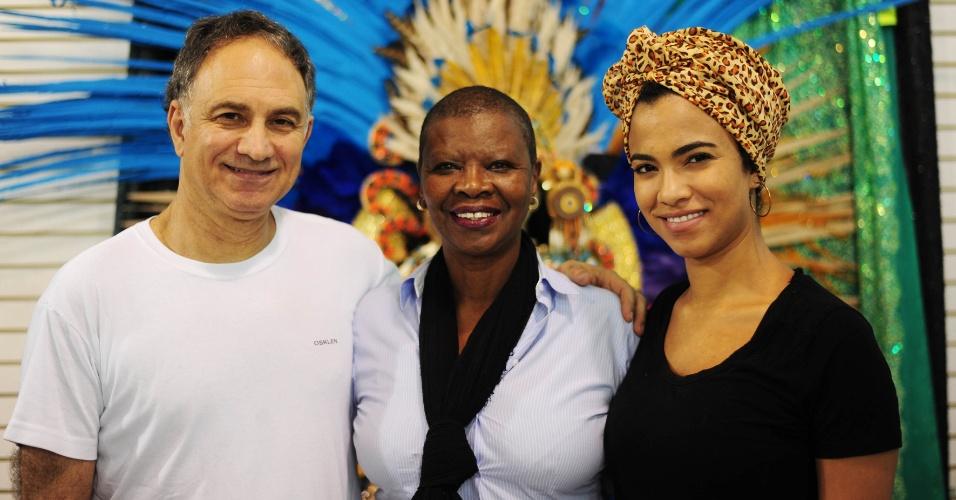 Família reunida nas vésperas do Carnaval 2016