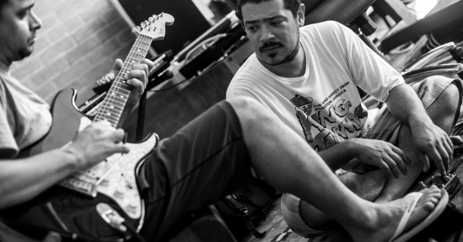 O som, que traz o arrocha, o pagode e o reggae, fez a Baiana System ser a única banda brasileira na lista de músicas do game