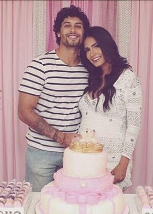 Jesus Luz e sua mulher, a DJ Carol Ramiro - Reprodução /Instagram /djcarolramiro