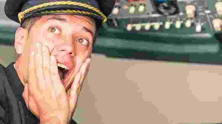 Pânico no avião, piloto, comandante, capitão, medo de voar - Getty Images - Getty Images