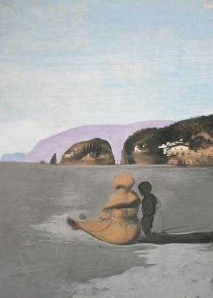 """A pintura """"Adolescência"""" (1941), de Salvador Dalí, foi roubada em 2009 - Reprodução"""