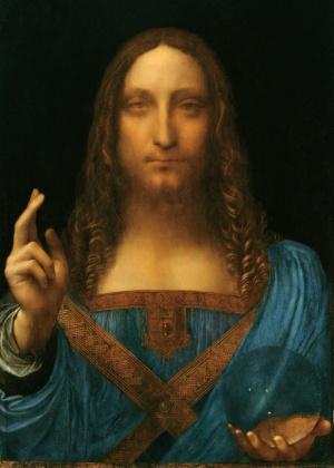 """""""Christ as Salvator Mundi"""", de Leonardo da Vinci - Divulgação"""